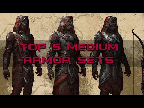 Top 5 Medium Armor Sets - Elder Scrolls Online
