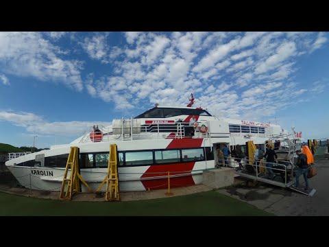 2016エストニア→フィンランド  リンダラインエキスプレス Linda Line Express Tallinn ESTONIA to Helsinki  FINLAND