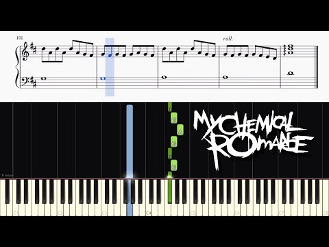 My Chemical Romance  Disenchanted  Piano Tutorial + SHEETS