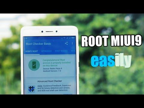how to root MIUI 9 easily - YouTube
