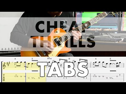 Sia - Cheap Thrills - Electric Guitar Cover Tabs
