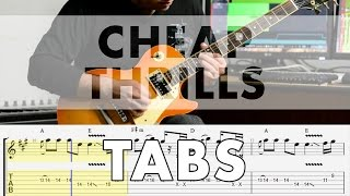 Sia Cheap Thrills - Electric Guitar Cover Tabs.mp3