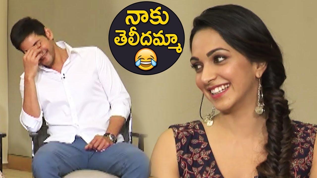 Download Mahesh Babu Making Hilarious Fun On Kiara Advani   TFPC