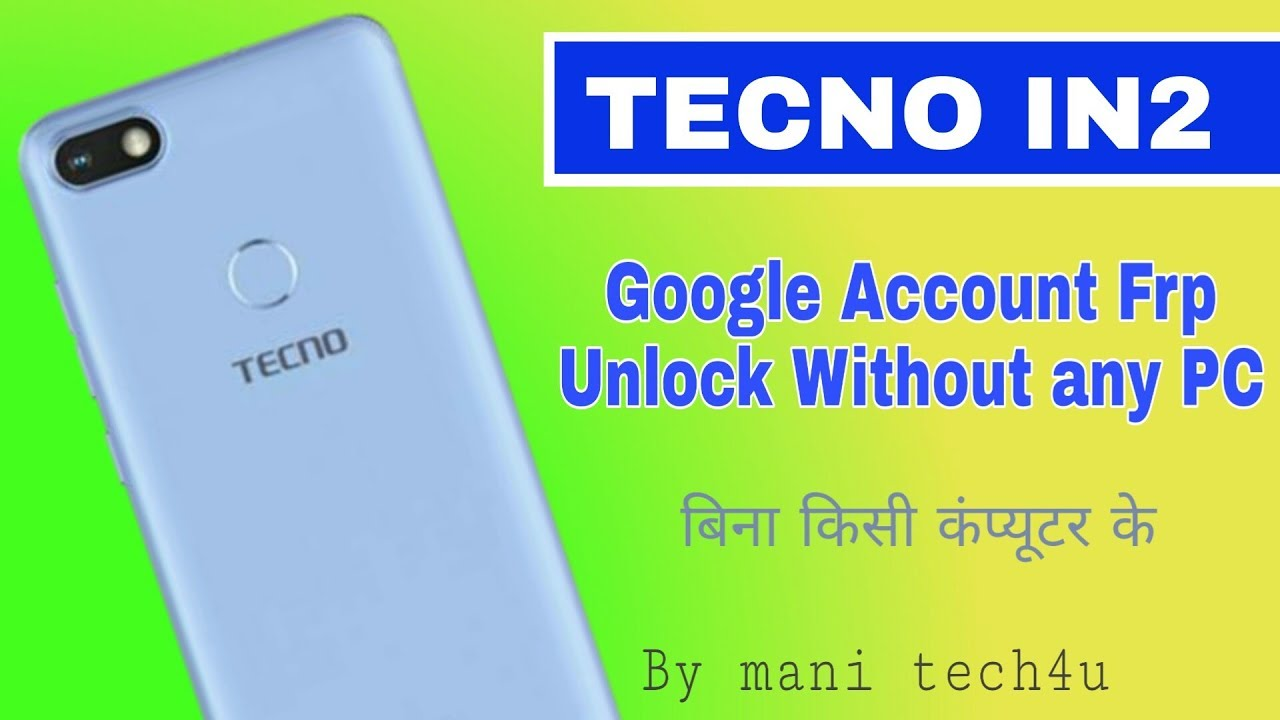Tecno IN2 hard reset pattern and password unlock by Rohan Yadav