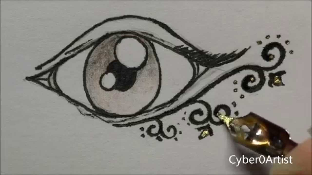 Dessin d 39 un il normal drawing of an eye youtube - Dessin d un crapaud ...