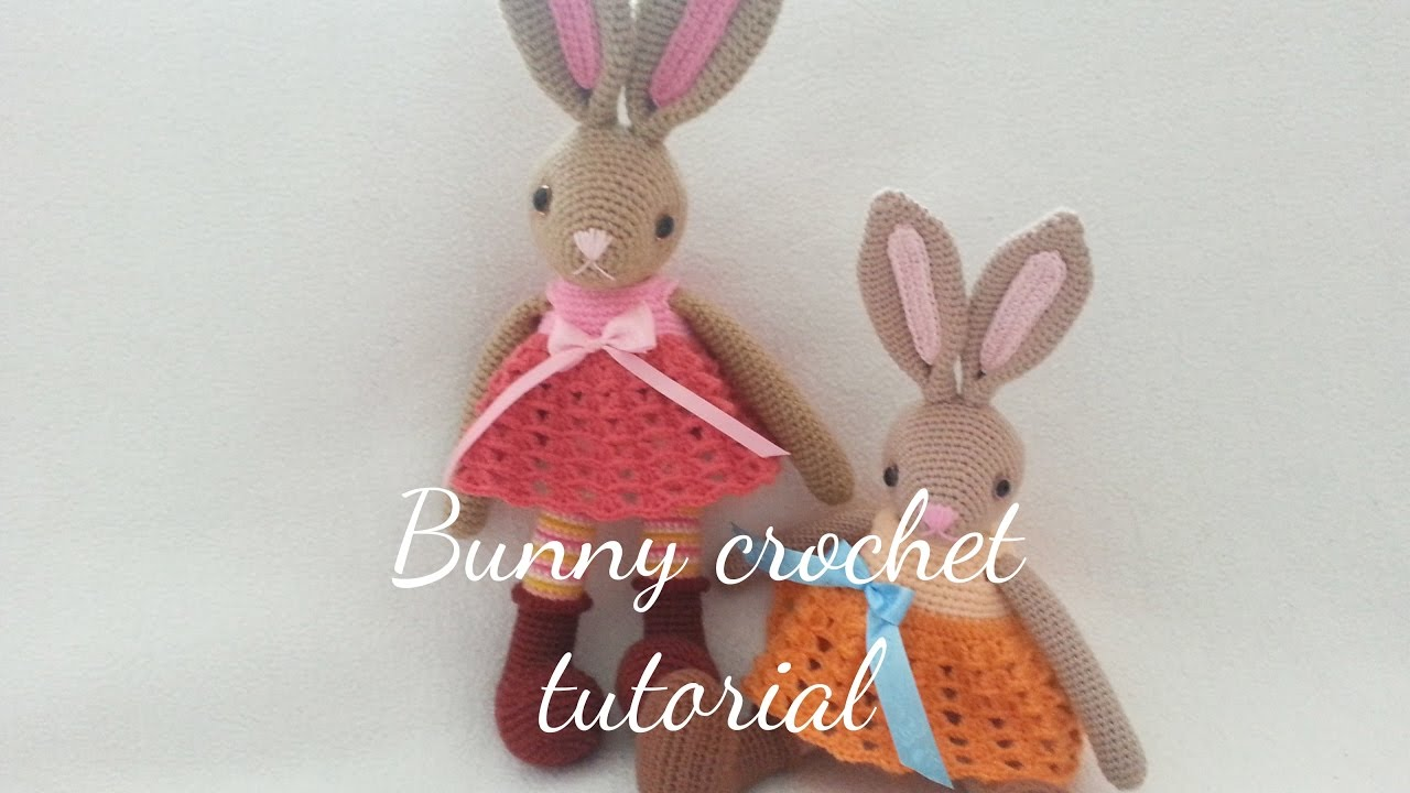 TILDA BUNNY CROCHET - YouTube | 720x1280