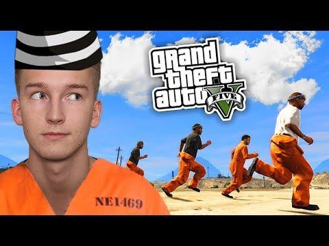 GTA V Więzienie #4 - KTOŚ UCIEKŁ... 👁️
