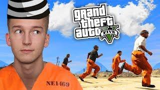 GTA V Więzienie #4 - KTOŚ UCIEKŁ... ️