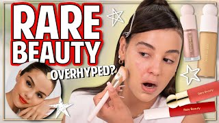 TESTING RARE BEAUTY BY SELENA GOMEZ 2020 | First Impressions, Review + Wear Test!