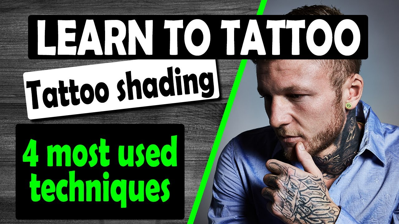 Download TATTOO SHADING FOR BEGINNERS - 4 techniques- packing, whip shading, brush shading & stippling