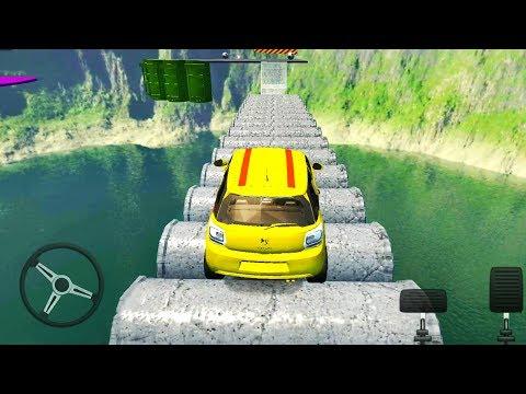 Impossible Ramp Car Driving And Pro Stunts 2019 - Android Gameplay