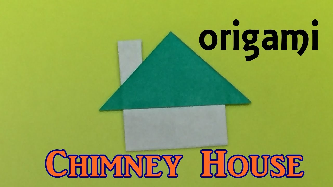 How To Make A Paper Chimney House