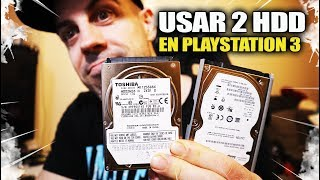 2 discos duros HDD en una PS3 | Playstation 3 OFW