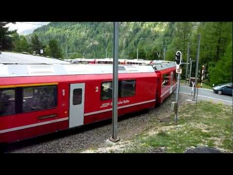 Allegra BEX Montebello Kurve (Bernina Express)