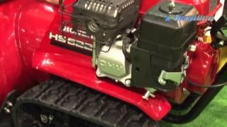 видео Снегоуборщик Honda HSS655 ET