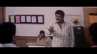 ತಿಂಗಳಿಗೆ ಸಂಬಳ ಕೊಡುದು ಬಿಟ್ಟು, ವಾರ ವಾರ ಕೊಟ್ರೆ ಹೆಂಗಿರುತ್ತೆ | Jaggesh Comedy Scene of Dudde Doddappa