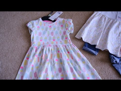 Baby Clothing Haul | F&F Clothing | Tesco Sale