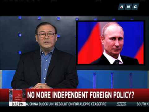 OPINION: No more independent foreign policy? - YouTube