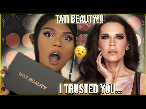 TATI BEAUTY REVIEW!!! CAN THIS PALETTE HURT TATI WESTBROOK'S CAREER?! IM... thumbnail