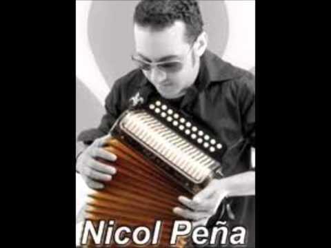 Nicol Peña y la seleccion tipica con wilman los placeres