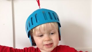 How To Make A Fun Knight Helmet Out Of A Cereal Box - DIY Crafts Tutorial - Guidecentral