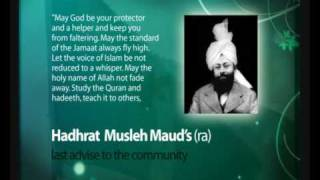 Musleh Maud Day - Last Advice to the Community