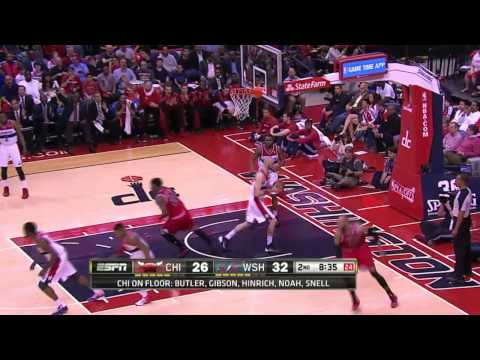 Chicago Bulls vs Washington Wizards Game 4   April 27, 2014   NBA Playoffs 2014