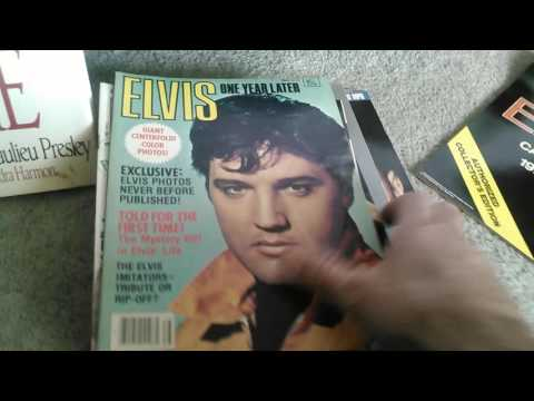 Elvis Presley collection for sale (SOLD)