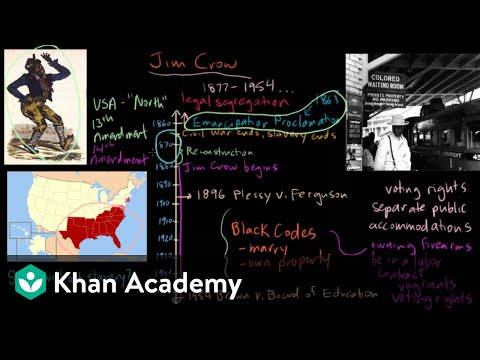 Jim Crow part 2 | The Gilded Age (1865-1898) | US History | Khan Academy