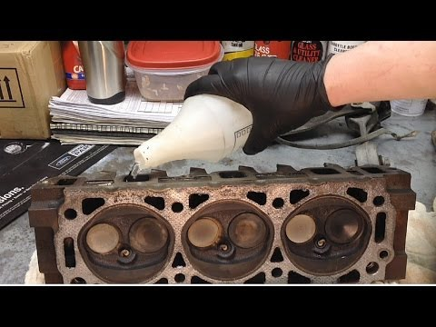 Water Testing Cylinder Heads to Diagnose Compression Issues