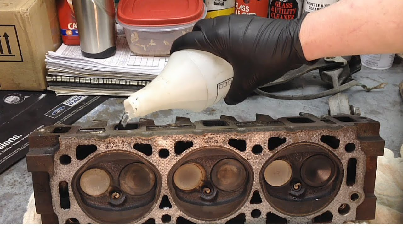 Water Testing Cylinder Heads Compression Issues  YouTube