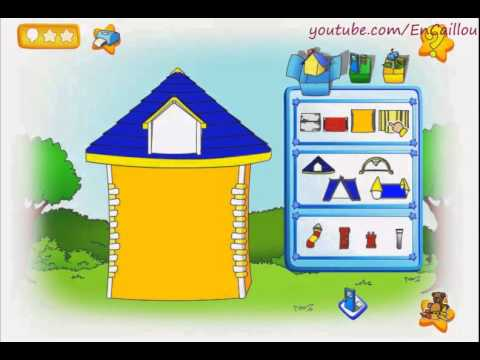 Caillou game to play building new house full episode youtube Create a house online game