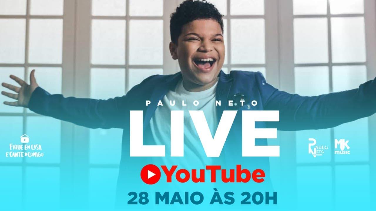 Paulo Neto - #Live #FiqueEmCasa Louve #Comigo #MaisPerto #MKnetwork
