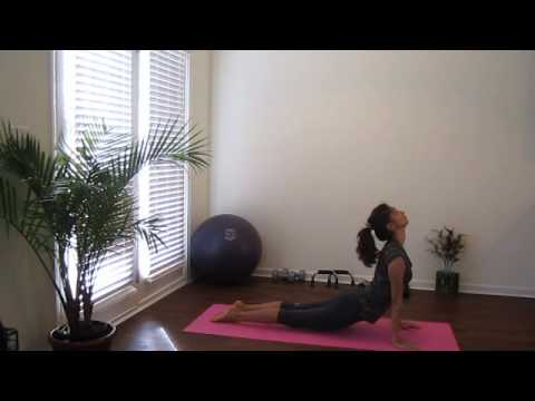 yoga for beginners  sun salutation b  youtube