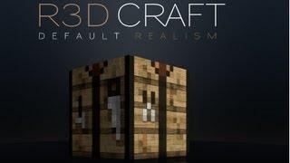Minecraft 1.6.2 Texture Pack R3D CRAFT 32x, 64x, 128x, 256x, 512x