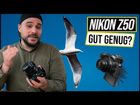 Test Nikon Z50 Review - Gut, mit Schwächen (Lieber Z5?) APS-C vs Vollformat Sensor (vs Z7 II, Z6 II)