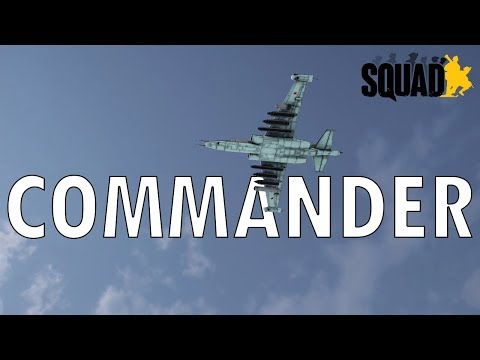 SQUAD BETA UPDATE   Commander addition to the game with UAVs, Artillery, and Close Air Support