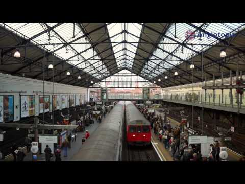 Anglophile Zen - Episode 5 -  Earl's Court Tube Station in London