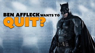 Rumor: Ben Affleck Wants to QUIT Batman? - The Know Entertainment News