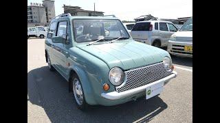 For sale 1989 Nissan pao PK10-001841 Japanese pike car usa uk
