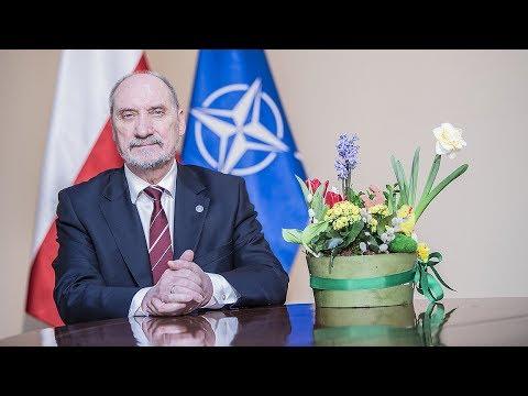 Życzenia wielkanocne ministra A. Macierewicza