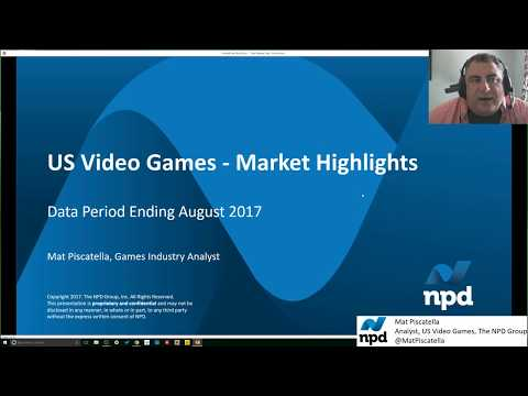 The NPD Group - August 2017 US Video Game Market Highlights