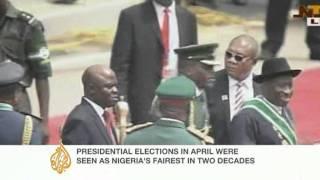 Update: Nigeria's new president sworn in