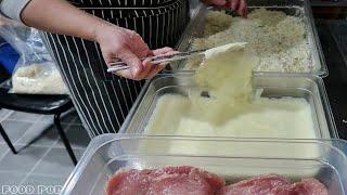 직접 만들어서 튀겨주는 수제돈까스 / 청주 맛집 / 서…