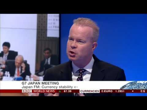 BBC World News DISCUSSES THE G7 FINANCE MINISTERS MEETING IN JAPAN