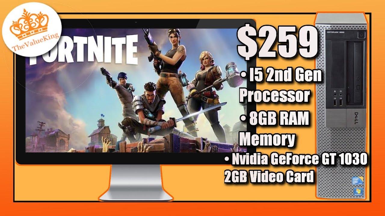 MICOMP: Hp Elite Gaming Computer Nvidia GT 1030 SFF Quad I5 3 1Ghz