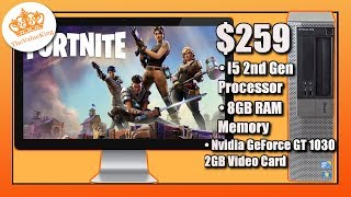 [Open Giveaway] $259 Budget Gaming PC! Play Fortnite, PUBG, Overwatch, GTA5 and More! Cop Or Drop?!