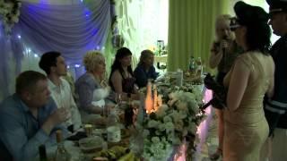 Свадебная сценка -Полиция и ГИБДД