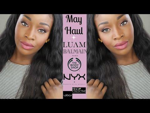 May Haul  L Balmain L Nyx L Body Shop L Luam L Lebay.se L Mino Collective L Black Magic Lifestyle