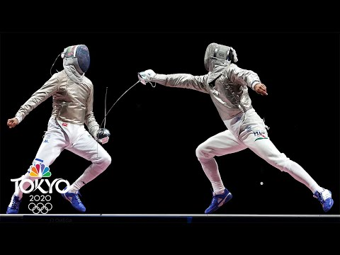 Download Aron Szilagyi makes Olympic history with third sabre gold | Tokyo Olympics | NBC Sports